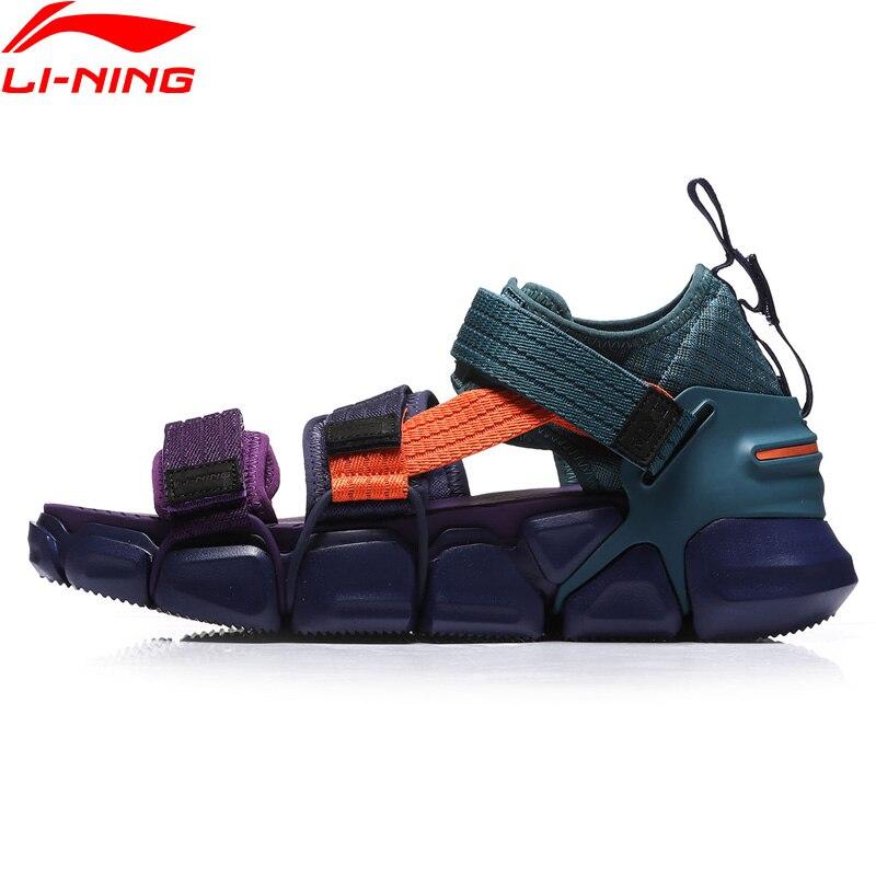 Li-ning hommes PFW MIX II plate-forme loisirs chaussures respirant portable doublure léger libre chaussures de Sport flexibles baskets AGLN225 YXB226