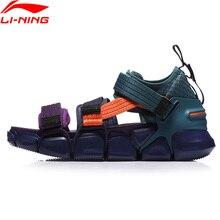 Li ning tênis de lazer masculino flexível, sapato de lazer plataforma pfw mix ii respirável esportivo agl225 n yxb226