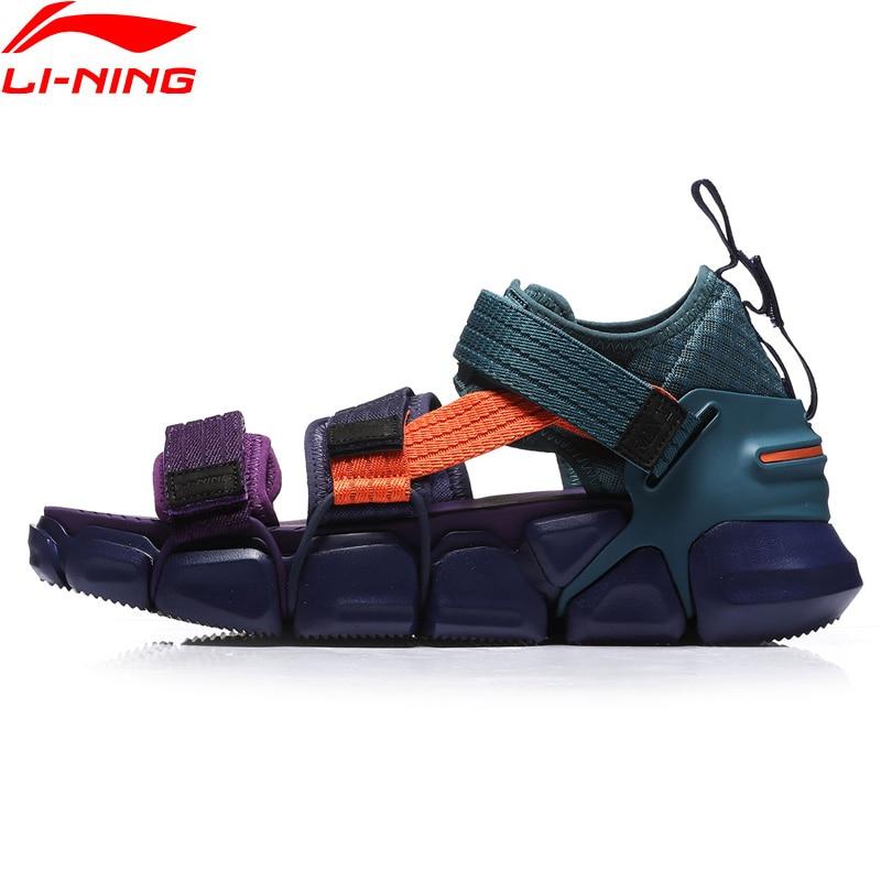 Li-ning-zapatos de plataforma tiempo libre PFW MIX II para hombre, forro transpirable, Li Ning Flexible, zapatillas deportivas AGLN225 YXB226