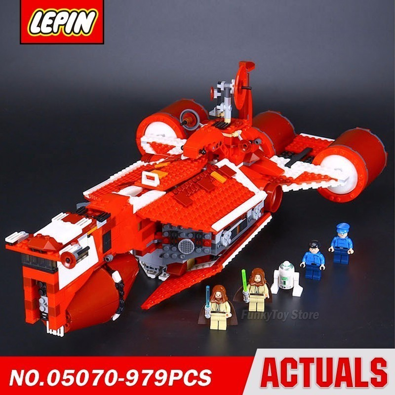 Lepin 05070 Republic Cruiser 7665 Star Series Wars Model Building Block Brick Kits Assembling Gift Toys new lepin 22001 pirate ship imperial warships model building kits block briks toys gift 1717pcs