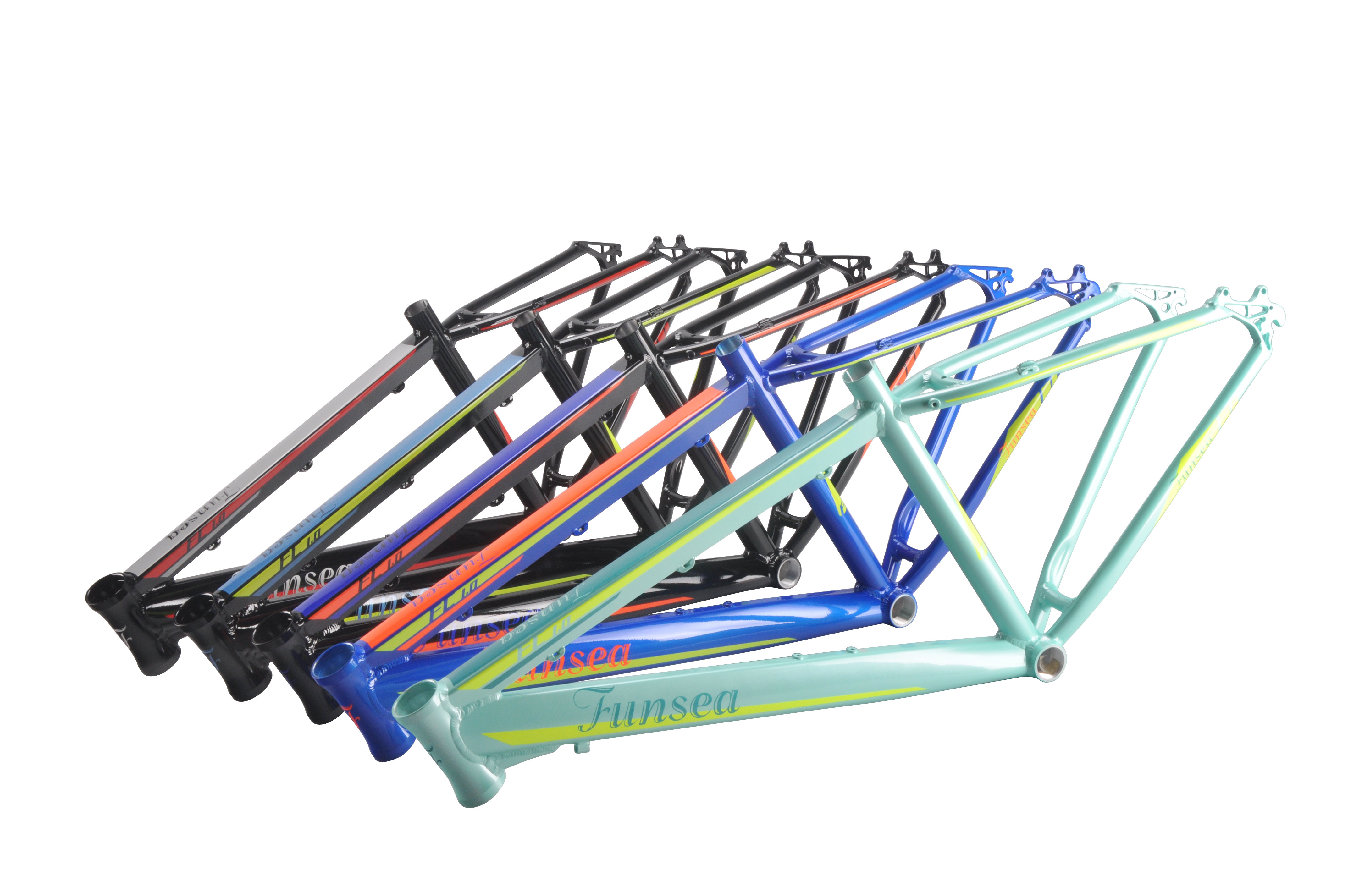 Competitive price painting/decal Finish 26*16/17/18/19 aluminum downhill mtb bicycle frame mountain bike frame with OEM ODM