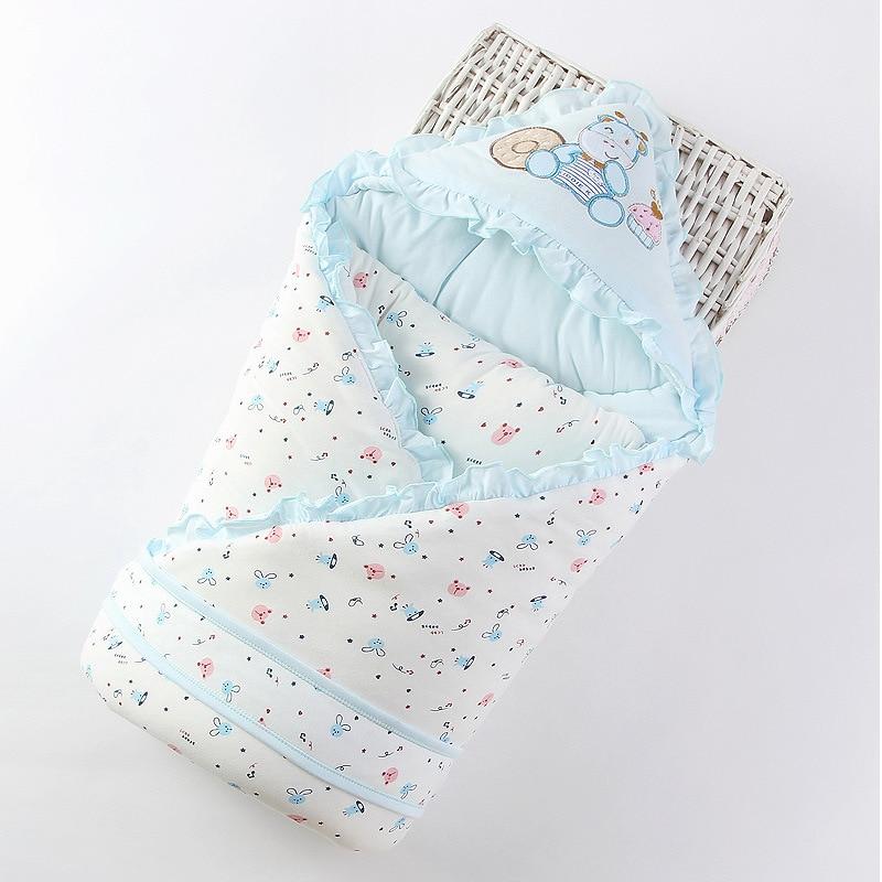 Baby Quilt Newborn Quilt Cotton Towel Baby Ultra-thin Hug Blanket Sleeping Bag Newborn Baby Supplies Spring And Autumn WinterZQ
