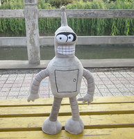 High Quality Movie Dolls Bender Soft Mascot 13.7'' Anime Stuffed & Plush Toy