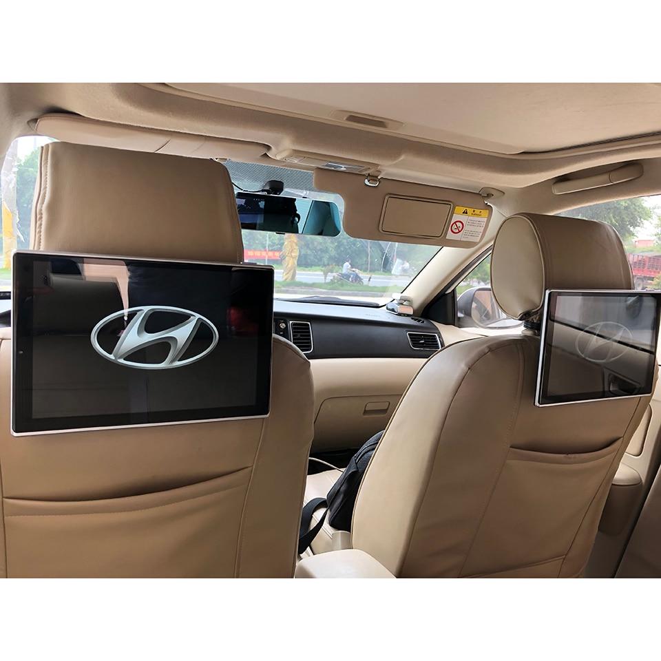 TV dans la voiture Auto appuie-tête écrans d'affichage DVD moniteur pour Hyundai Veracruz LCD Android 7.1 OS système grand écran 11.8 pouces