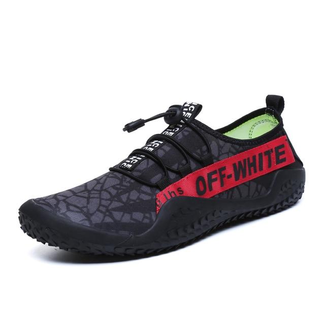 € 19.36 48% de DESCUENTO 2018 zapatos para correr para hombre zapatos corrientes respirables luz baratos Trainer deporte verano deportes acuáticos