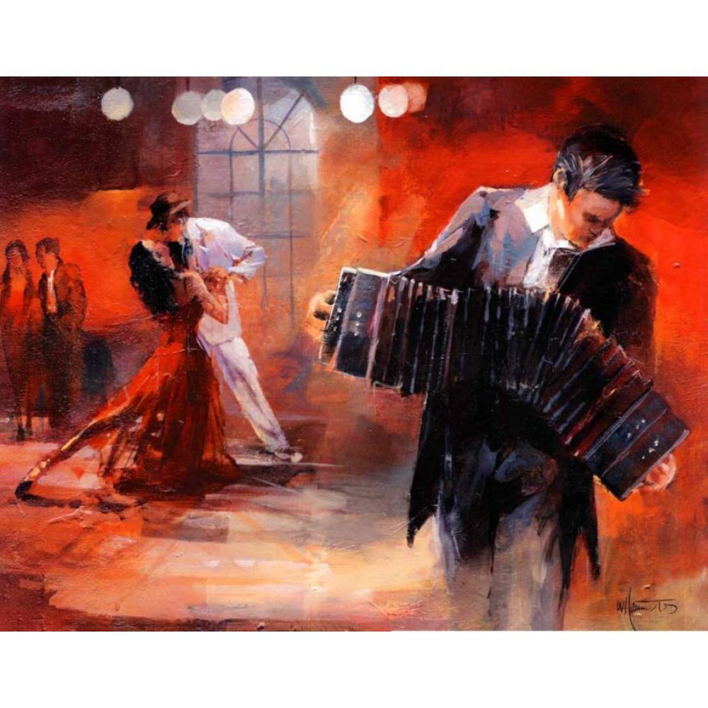 Resultado de imagen para pintura tango