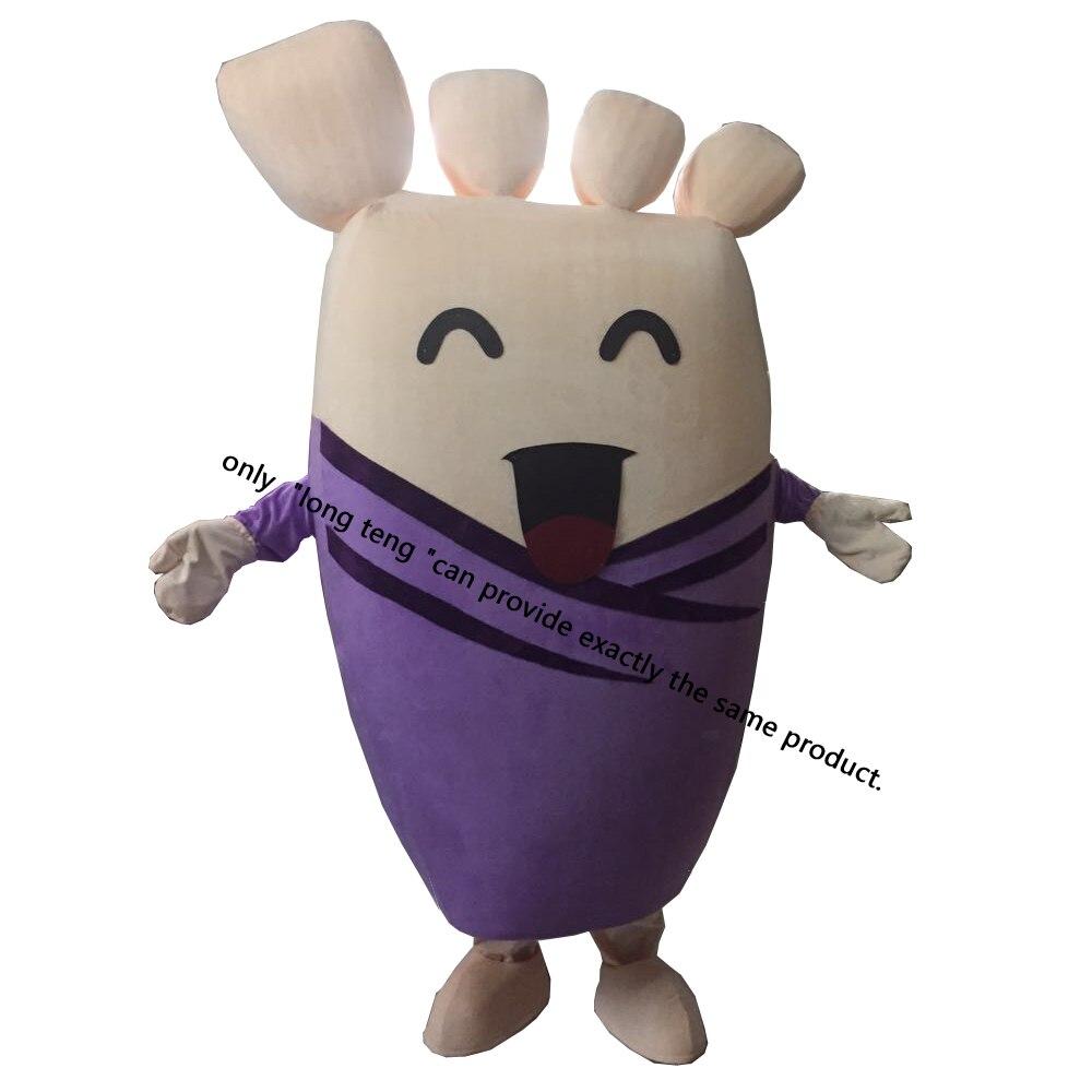 Foot feet Plush cartoon mascot costumes for adults christmas Free Shipping 100% ture photo