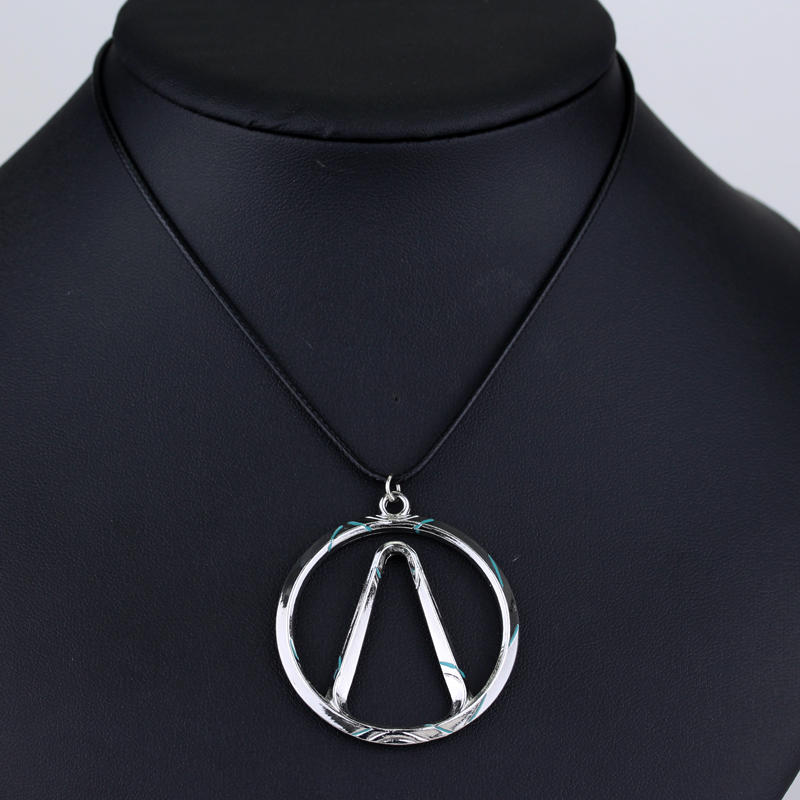 Hot trendy Borderlands Game Bijoux Handmade Borderlands Vault Symbol Choker pendant Necklace Fashion Jewelry For Women image
