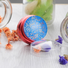3Pcs/set Red Metal Nail Art Stamper Clear Jelly Silicone Head Stamper with Cap & 2 Scrapers 28649