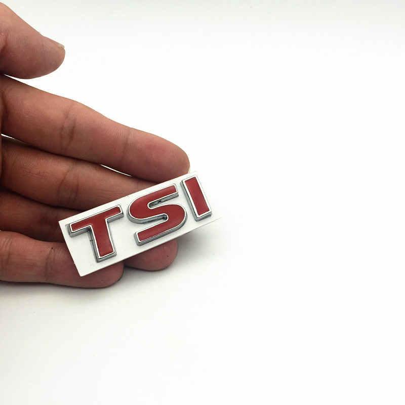 FDIK 3D métal TSI emblème voiture style Badge autocollant autocollant pour VW Volkswagen POLO Golf 4 7 passat B5 B6 T5 touran jetta MK4 MK5
