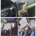 Car Parts Ninja KATANA  Gear Shift Knob For Automobile Spare Part Speed Chrome Samurai Sword Handle For Most Vehicles