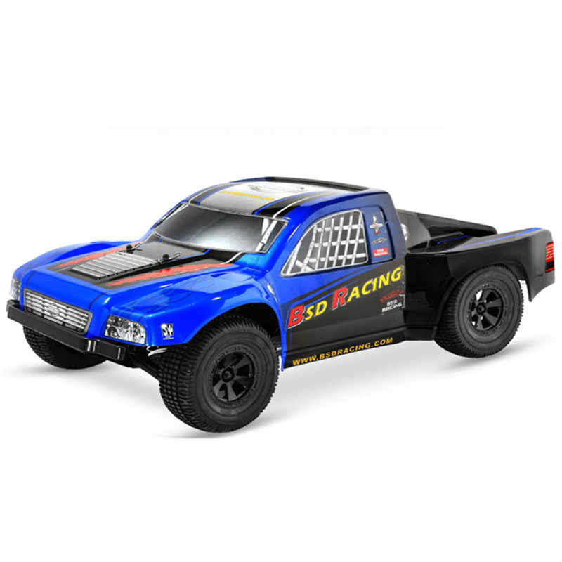 BSD Racing BS807T 1/8 2.4G 4WD 75 กม./ชม. 4 S Brushless Rc รถรถบรรทุกระยะสั้น RTR รุ่นของเล่นกลางแจ้งของเล่น