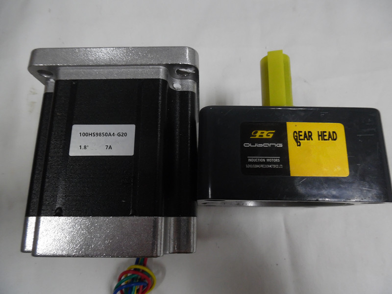 Ratio1:20 NEMA34 7A 10NM 1429oz-in L 98mm Gear reducer Stepper Motor CNC Machining  New In Box mikado ace carp 10007 6 1подш gear ratio 4 7 1 сист своб хода