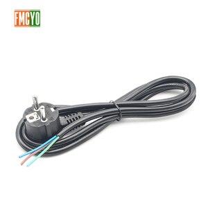Image 2 - EU 1.8 1.2m 欧州規格電源コード裸テールエンド 0.75mm2/1mm2/1.5mm2 厚いケーブルコンピュータ/ プリンタ/炊飯器