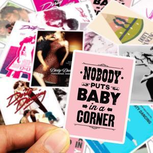 Image 3 - 25 قطعة/الوحدة ملصقات من كلوريد متعدد الفينيل للرقص على لوح التزلج الخاص بالكمبيوتر المحمول ملصقات للأمتعة والدراجات النارية