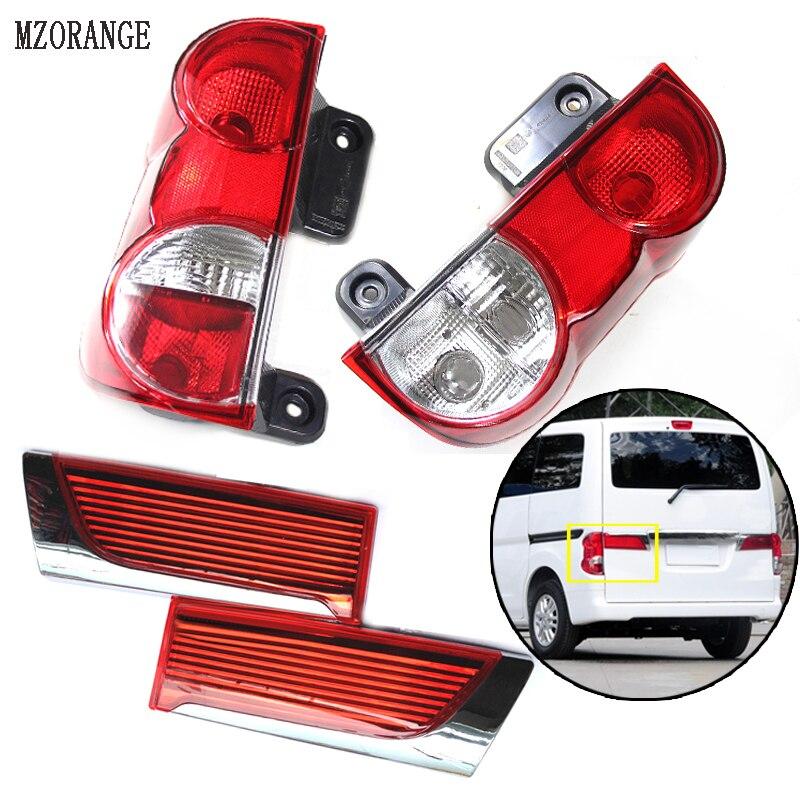 MZORANGE Tail Lamp Rear Lights Inside/Outside Lamp For Nissan NV200 Tail Light Rear Brake Light Rear Warning Lamp Cover