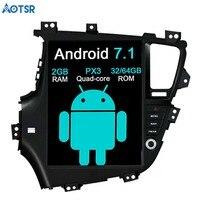 Aotsr Тесла стиль Android 7,1 автомобиль gps навигации автомобиля без DVD плеер для KIA Optima KIA K5 2010 2013 стерео блок мультимедийных