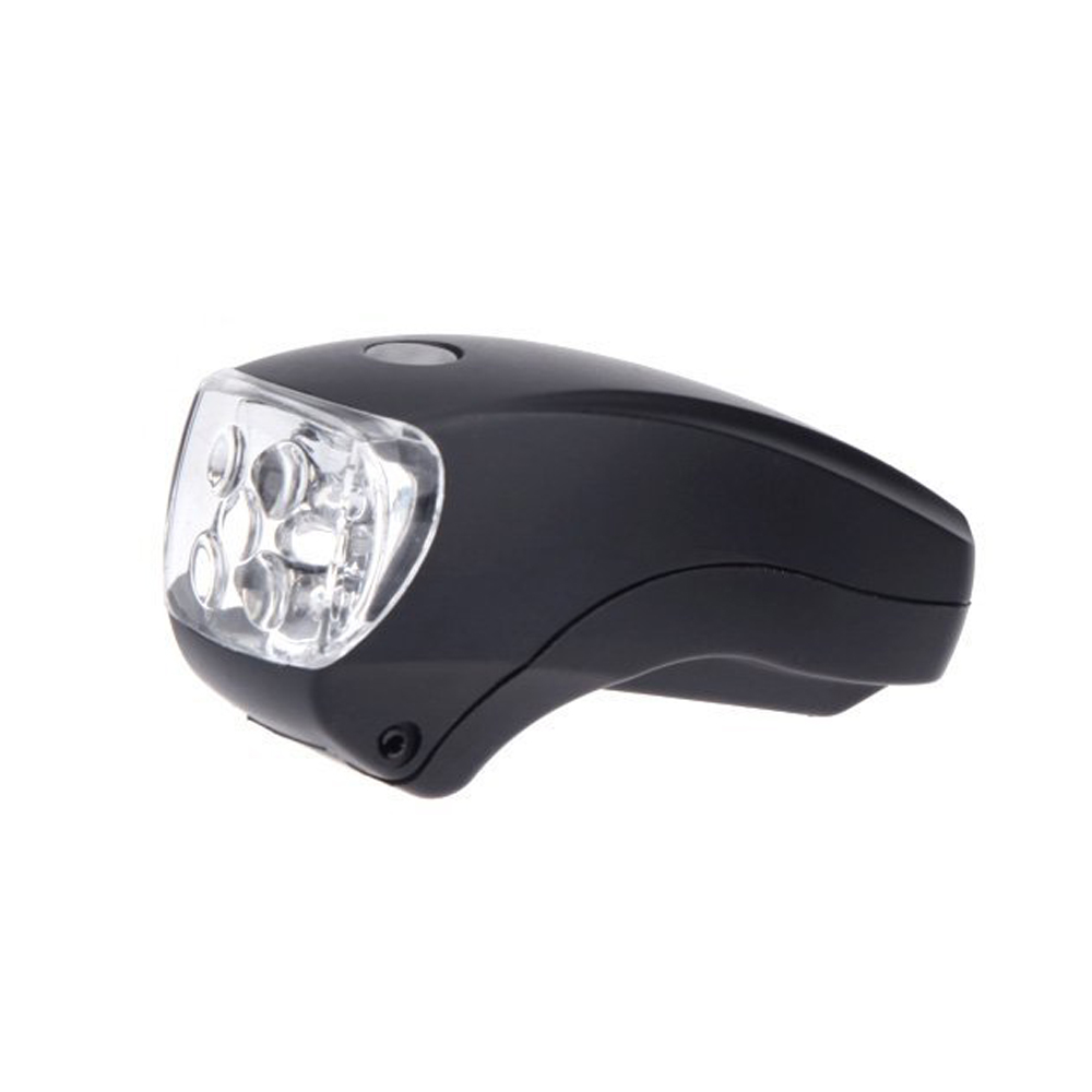 Top Quality Cycling Ultra Bright 5 LED Bicycle Bike Front White Head Light Safety Lamp Flashlight 3 Mode Weather Resistant