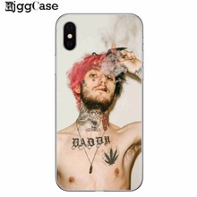 Lil Peep Lil Bo Peep UltraThin silicone Back Skin Cover for iPhone 7 Soft TPU Case for iPhone X 5S SE 6 6S 7 8 Plus Phone Cases