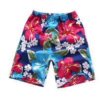 Brand Clothing Summer Men Board Shorts Quick Dry Beach Board Shorts Male 3d Foral Hawaiian Shorts