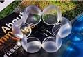 Transparente bebé esférica seguridad tabla protección crash protector de la esquina L engrosamiento enviar 3 M