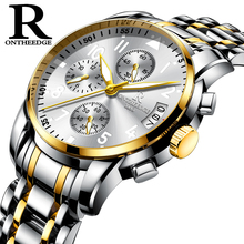 Luxury Waterproof Mens Watch Fashion For Men Quartz Man Watches Stainless Steel Sports