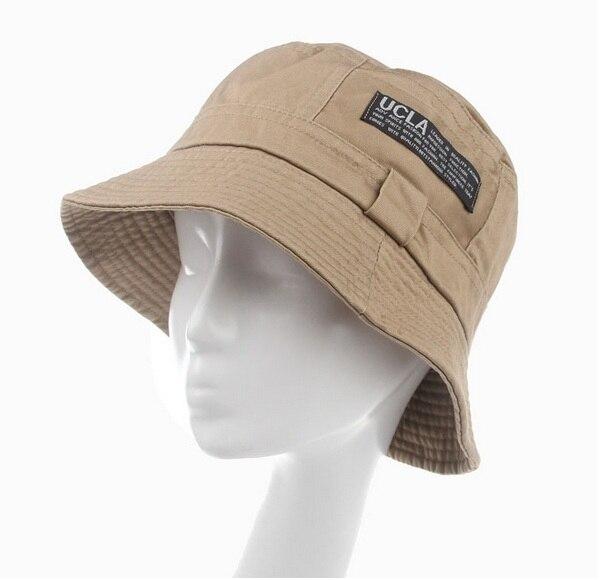 Модные женские туфли с широкими полями человек Фишер пляжные шляпы Панамы для женщин Женская мода Дорожная Кепка шляпа от солнца Кепки - Цвет: kaki