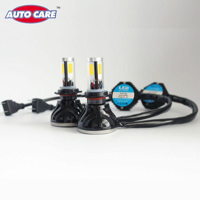 Autocuidado Linterna Del Coche H7 Bombillas LED 40 W 4000LM 6000 K Faros de Automóviles Blanco Amarillo Azul Auto Lámparas de Iluminación para elección