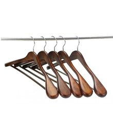 Hangerworld Luxury Wide Shoulder Wooden Suit Hanger (5 pieces/ lot)