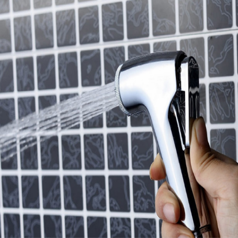 ABS material portable Bidet Faucets vaginal anal shower anal cleaner bidet shower free shipping in Bidet Faucets from Home Improvement