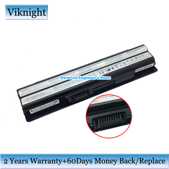 Genuine BTY-S14 BTY-S15 Battery For MSI CR70 CX650 FR600 FR400 FR610 FR700 FX400 FX600 FX610 FX700 MD97125 MD97127 MD97690