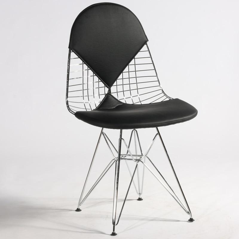 Beau Huo Sen Rail Passenger Chair Eiffel Wire Chair Eames Chair Has A Metal Chair  Cushions Tide In Shampoo Chairs From Furniture On Aliexpress.com | Alibaba  ...