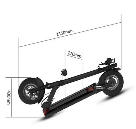 Electric scooter for JOYOR Y5S/Y6S/Y7S/Y8 with seat 10inch motor Scooter  Electric skateboard electric kick scooter Unisex