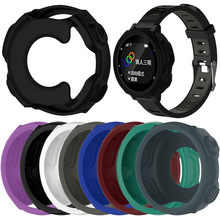 NEW High-quality Silicone Wristband Bracelet Protector Case Cover for Garmin Forerunner 235 / 735XT GPS Watch Shell(China)