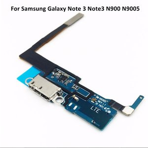 Image 1 - Quality Replacement Charging Flex Cable For Samsung Galaxy Note 3 Note3 N900 N9005 Microphone USB Port Socket Dock Connector