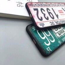 License Plate  Phone Cases for iPhone 7 7 Plus 6 6s 6Plus 6sPlus 5 5s SE