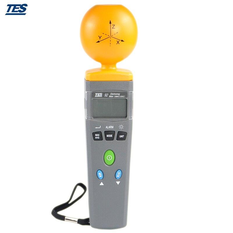 TES-92 Triaksiaalne Andmeloger Elektromagnetilise kiirguse - Mõõtevahendid - Foto 5