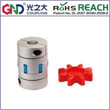 GND-couplage GFC D14 L22 fleur de prune flexible, pince en forme d'araignée pour machine CNC
