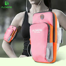 FLOVEME Universal Sport Running Arm Band Case For Xiaomi Redmi Note 7 5 4 New Design Outdoor iPhone 8 6 6s Plus Bags