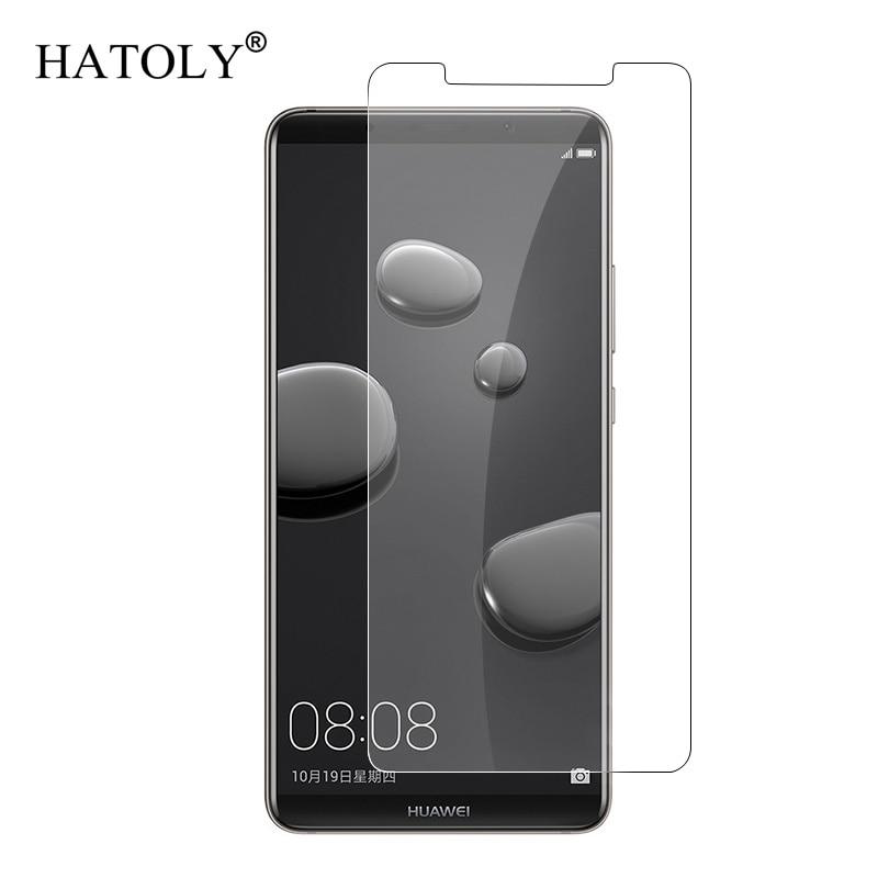 2PCS Glass Huawei Mate 10 Pro Tempered Glass 2.5D 9H Screen Protector For Huawei Mate 10 Pro Film Huawei Mate 10 Pro Glass 6.0
