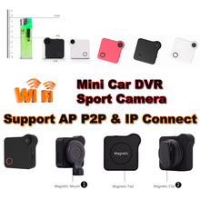 Mini Car DVR Camera Action Sport Camera Dash Cam Car black Box Video Recorder Camcorder Motion detection wifi AP P2P IP Connect