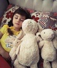 28/38/45/65 см шесть Цвет Симпатичный плюшевый кролик мягкие успокоить кролик игрушка в подарок для маленьких детей