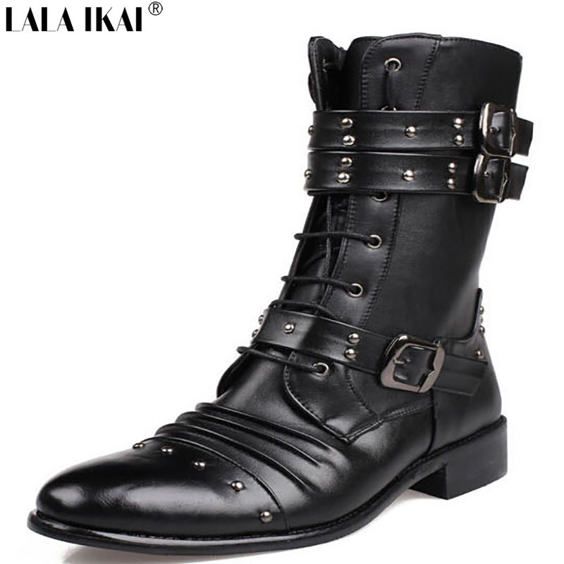 Popular Vintage Military Boots Men-Buy Cheap Vintage Military ...