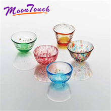 5pcs/set Handmade Colorful Wine Glass Household Mug Japanese Style Home Decoration Gift Trumpet Glass Water Glass Beer Cup цепочка на руку kyoto story japanese style glass beads