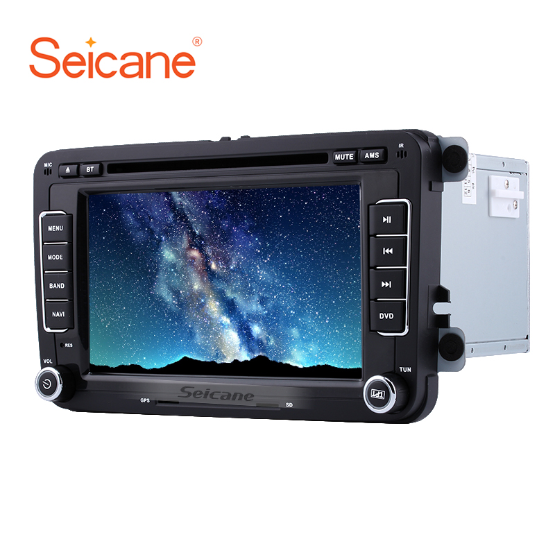 Seicane 7 RAM 256MB In Dash Car DVD Player For 2009-2016 Skoda Yeti Superb Rapid Radio Bluetooth GPS Phone Support SD AUX DVR car dvd gps android 8 1 player 2din radio universal wifi gps navigation audio for skoda octavia fabia rapid yeti superb vw seat