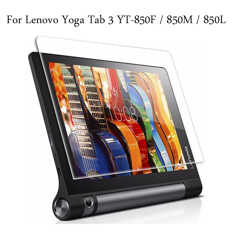 Tempered Glass Membrane For Lenovo Yoga Tab 3 8.0 YT-850F YT3-850M YT3-850L Steel Film Tablet Screen Protection Toughened