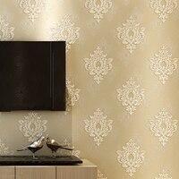 Non-woven wallpapers 3D stereoscopische precisie Europese stijl Damascus luxe woonkamer slaapkamer studie TV achtergrond muur papier