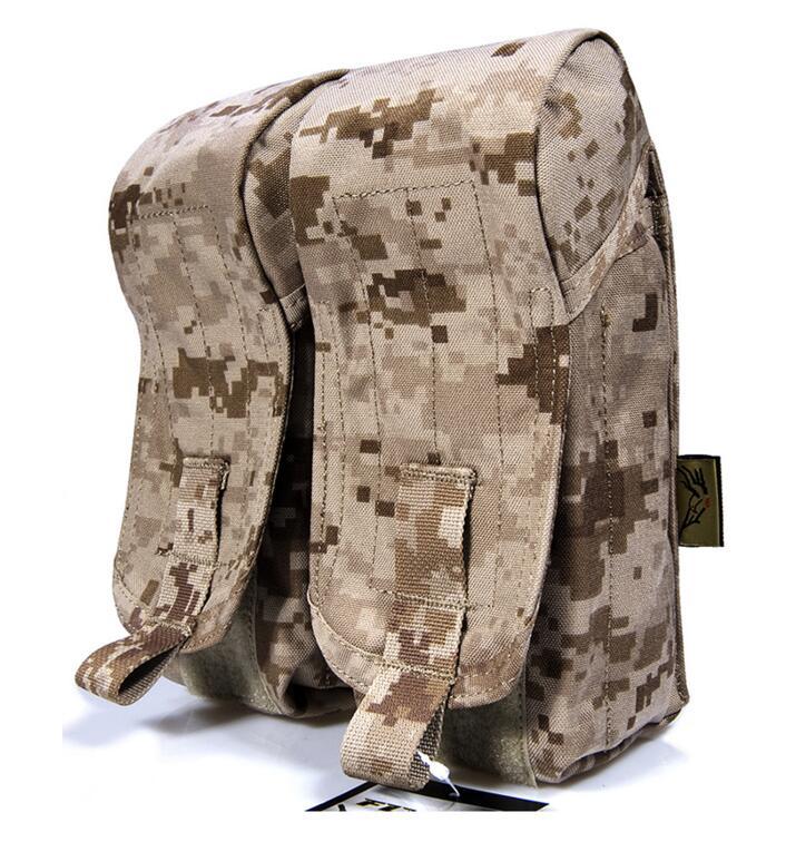 FLYYE MOLLE nylon MOLLE AK Double Dual AMMO Magazine Pouch Military CORDURA PH M007