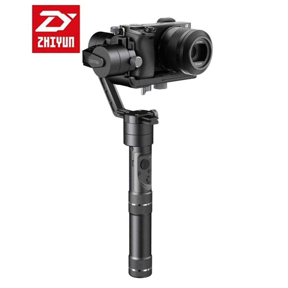Zhiyun Crane M 3-Axle Handheld Gimbal Stabilizer Load 650g for Mirroless DC DSLR Cameras Smartphone for Gopro 3/5 For Xiaoyi yuneec q500 typhoon quadcopter handheld cgo steadygrip gimbal black