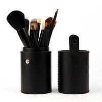 12 stücke Bilden Pinsel Set Komfortable Portabl Make-Up Pinsel Kit Pinceis Maquiagem Pincel Pinceaux Maquillage + Leder Bürstenhalter
